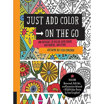Rockport Books-Just Add Color - On The Go RKP-92638