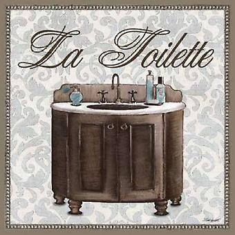 La Toilette Sqaure Poster Print by Todd Williams