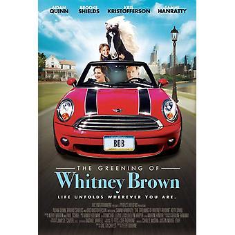 Miljöanpassning av Whitney Brown filmaffisch (11 x 17)