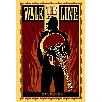 Zu Fuß die Linie Movie Poster drucken (27 x 40)