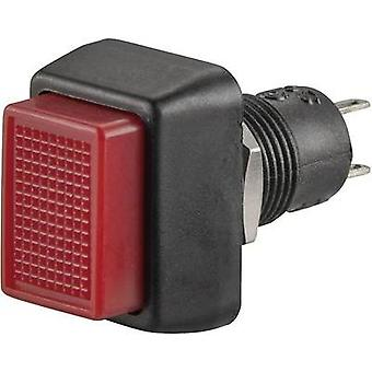 Pushbutton 250 Vac 1 A 1 x Off/(On) SCI R13-92A-05 RED ACTUATOR momentary 1 pc(s)