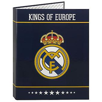 Real Madrid Carpeta Folio 4 Anillas Mixtas Real Madrid