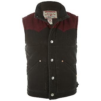 Cavo di Truereligion Carter gilet stile Mens: Mc4fk48lk