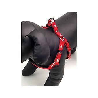 Protection souple réfléchissant en Nylon harnais noir grand 1