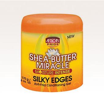 African Pride Shea Butter Miracle 6oz Silky Edges (Capillair , Behandelingen)