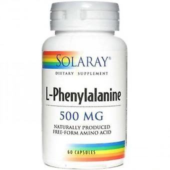 Solaray L-Phenylalanine 500 mg 60 Capsules (Vitamins & supplements , Amino acids)