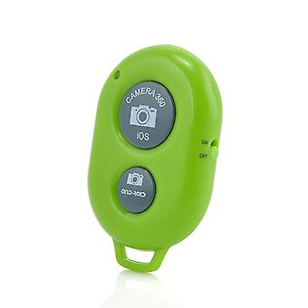 Lava Twinpad (Green) Wireless Bluetooth Camera Shutter Remote Self Timer Control For All Android, iOS Devices Tablets