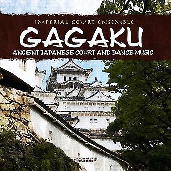 Imperial Court Ensemble - Gagaku: Ancient japanska domstolen & Dance Music [CD] USA import