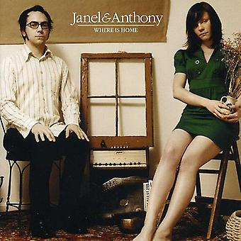 Janel & Anthony - Where Is Home [CD] USA import