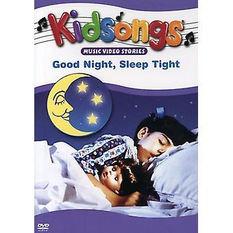 Kidsongs - god nat søvn stramme [DVD] USA importerer