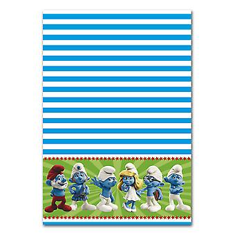 The Smurfs child party tablecloth 130 x 180 children's birthday
