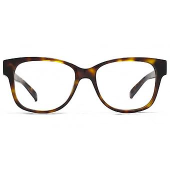 Carvela Large Square Glasses In Tortoiseshell