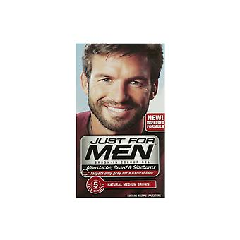 Just For Men Just For Men Brush In Colour Gel Med Brown (M35) Facial Hair Colour
