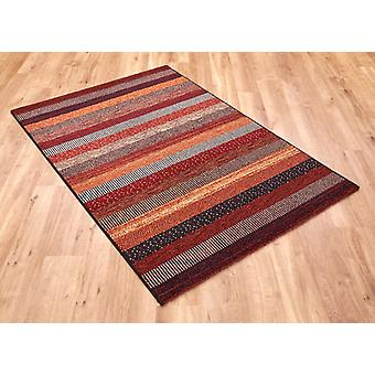 Woodstock 32743-1382 Shades of rust and brown Rectangle Rugs Modern Rugs