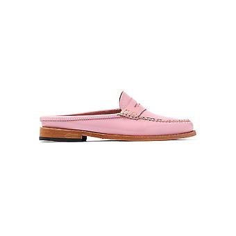 Women's Weejuns Penny Slide Wheel Loafers - Rose Patent Leather
