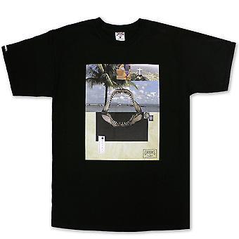 Oplichters & kastelen Paradiso T-shirt zwart