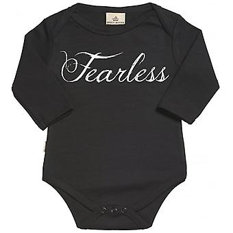 Spoilt Rotten Fearless Organic Baby Grow In Gift Milk Carton