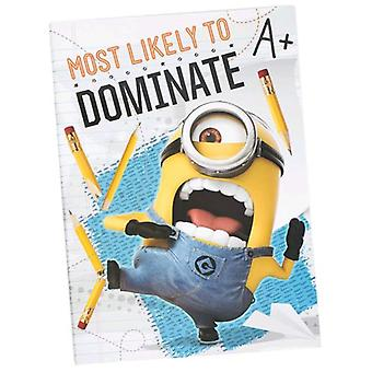 Import Staples Notebook A4 Minions (Toys , School Zone , Notebooks And Folders)