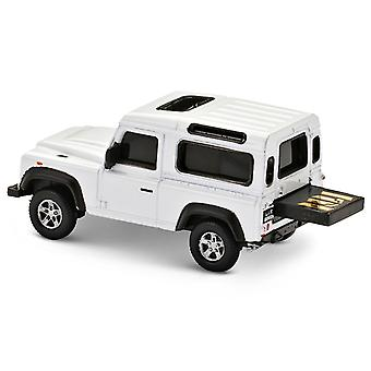 Offizielle Land Rover Defender USB Memory Stick 16Gb - White