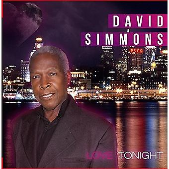 David Simmons - Love Tonight [CD] USA import