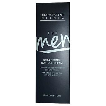 Transclini Transparent Clinic For Men Q10 Retinol Cream Contour 18ml