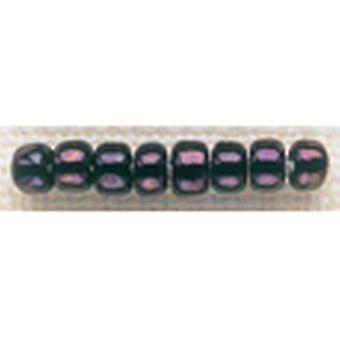 Mill Hill Glass Beads Size 6 0 4Mm 5.2 Grams Pkg Eggplant Gbd6 16004