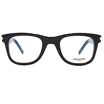 Saint Laurent SL 50 Slim Glasses In Black