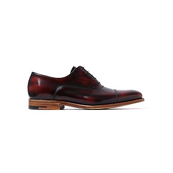 Men's Hartley Hi Shine Derby Shoes - Brandy Leather