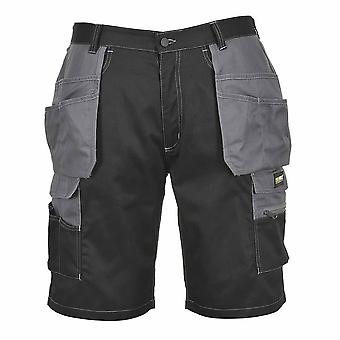 sUw - granito Workwear coldre dois tons Shorts
