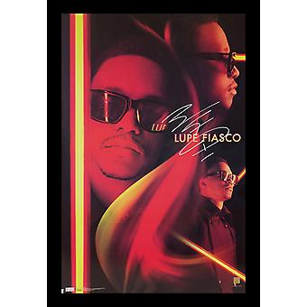 Lupe Fiasco Signed Poster