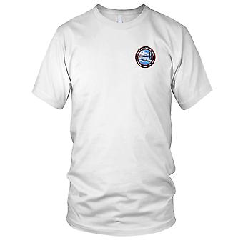 Los E.E.U.U. Marina de guerra submarino White Mountain Base bordado parche - señoras T Shirt