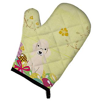 Carolines Treasures  BB6091OVMT Easter Eggs Bedlington Terrier Sandy Oven Mitt