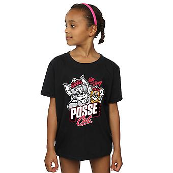 Tom And Jerry Girls Posse Cat T-Shirt