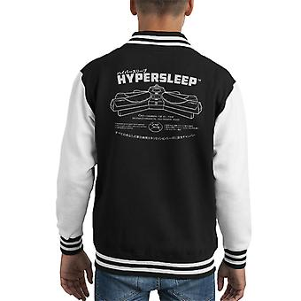 Alien Hypersleep Kid's Varsity Jacket