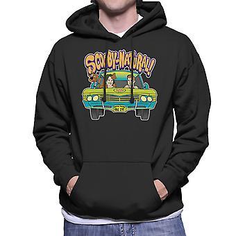 Übernatürliche Scooby Doo Mix Herren Sweatshirt mit Kapuze