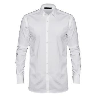 Lagerfeld Lagerfeld Plain White Shirt