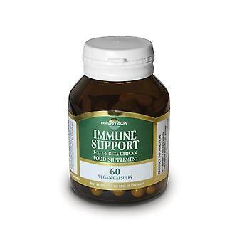 Natures Own Immune Support Beta Glucan 250mg, 60 capsules