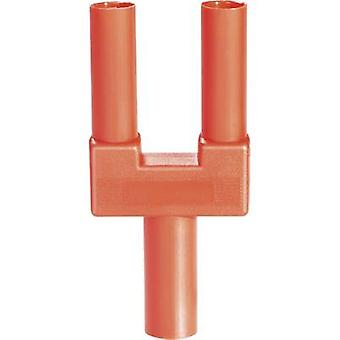 Safety shorting plug Red Pin diameter: 4 mm Dot pitch: 19 mm Sch