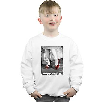 The Wizard Of Oz Boys Ruby Slippers Photo Sweatshirt