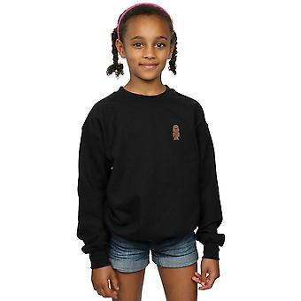 Star Wars Girls Chewbacca Chest Print Sweatshirt