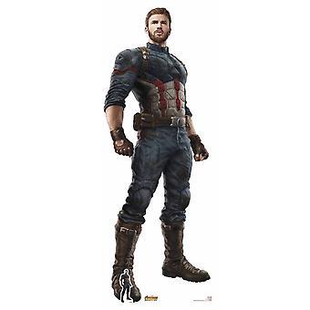 Captain America Avengers Infinity War Lifesize Cardboard Cutout / Standee