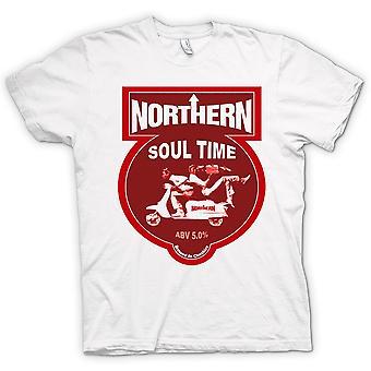 Mens T-shirt - Northern Soul Scooter Vespa