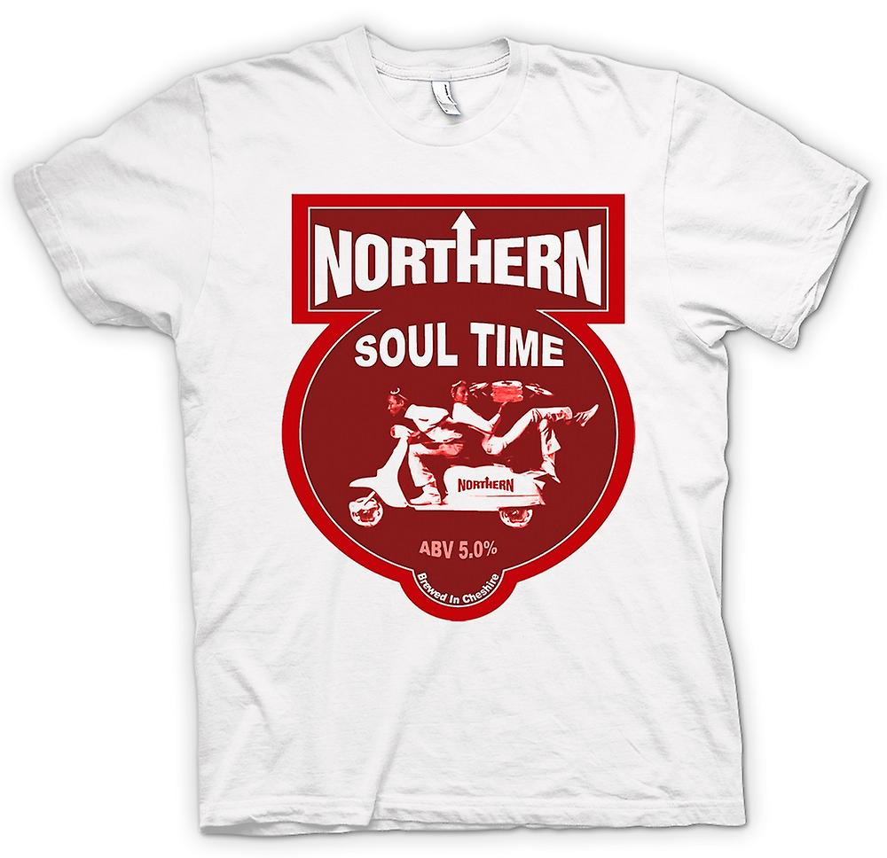 Hommes T-shirt - Northern Soul Scooter Vespa
