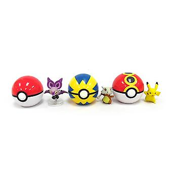 Pokemon 13888 Xy Clip N Carry Poke Ball-Random Models