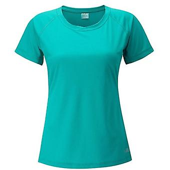 Rab Womens Short Sleeved T-Shirts Lightweight Polyester Grid Knit