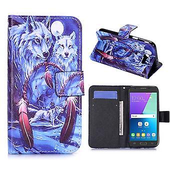 Pocket plånbok motiv 31 för Samsung Galaxy J7 J730F 2017 ärm case fodral cover skydd