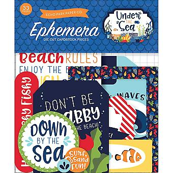 Under The Sea Ephemera Cardstock Die-Cuts-Icons