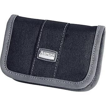 Memory card pouch Hama 49916 SD card, MemoryStick® PRO Duo card, CompactFlash card Black-grey