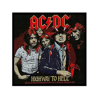 Ac/Dc Highway To Hell Sew-On Cloth Patch