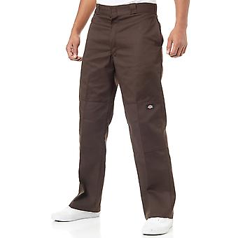 Dickies Dark Brown Double Knee Workpants